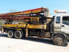 转让无手续04年三一五十铃37米泵车
