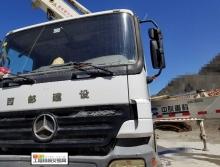 转让2007年中联奔驰底盘37米泵车