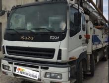 出售12年中联五十铃46米泵车