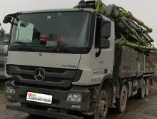 豪车转让2016年出厂17年上牌中联奔驰底盘52米泵车