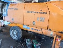 精品转让13年底出厂中联9018-195柴油拖泵
