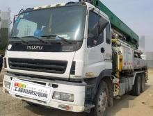 出售10年出厂中集五十铃38米泵车