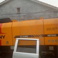 转让2010年三一重工HBT80C拖泵