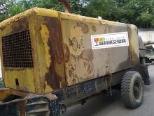 出售08年出厂天一8016拖泵(两台)