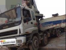 裸车出售10年中联五十铃47米泵车