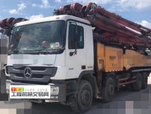 车主直售13年三一奔驰C8系列56米泵车