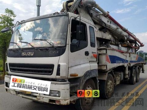 出售10年中联五十铃52米泵车