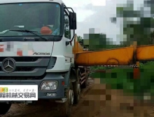 出售12年三一奔驰48米泵车
