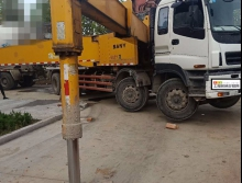 精品转让2012年三一五十铃底盘56米泵车