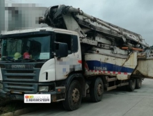 出售11年中联斯堪尼亚52米泵车