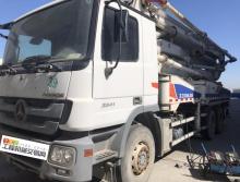 裸车出售2010年中联奔驰40米泵车(准新车)