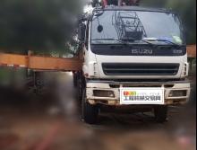 出售07年11月出厂三一五十铃叉腿40米泵车
