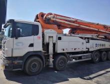 精品转让2015年上牌中联斯堪尼亚底盘63米泵车