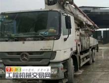 出售11年中联奔弛47米泵车