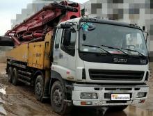 精品转让2008年出厂三一五十铃底盘50米泵车