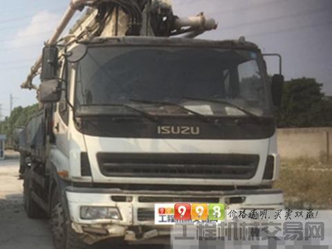 出售10年中联五十铃46米泵车