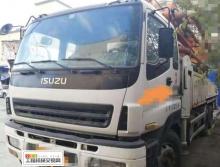 出售12年中联五十铃47米泵车