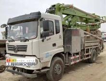 出售18年东风33米搅拌泵车