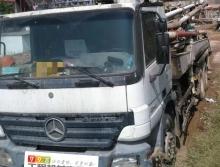 出售2008年中联奔驰37米泵车
