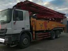 精品北方车出售14年出厂三一奔驰49米泵车
