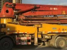 出售07年三一奔驰45米泵车(国三绿标)