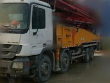 出售13年出厂三一奔驰C856米泵车