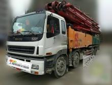 车主直售14年三一五十铃56米泵车