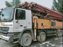 精品一手车转让13年12月大象奔驰56米泵车