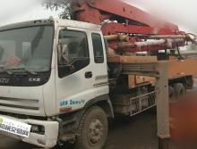 出售01年大象五十铃37米泵车
