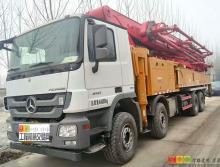 出售17年三一奔驰60米泵车(全新国四车)