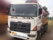 出售11年三一日野37米泵车
