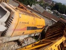 处理2010年中联6013-90电拖泵