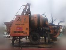 出售17年5月拓沃重工T6电动搅拌拖泵
