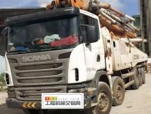 出售13年中联斯堪尼亚60米泵车