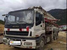 车主直售2009年7月出厂中联五十铃37米泵车