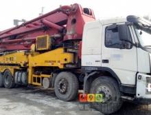 出售05年三一沃尔沃42米泵车(正常手续)