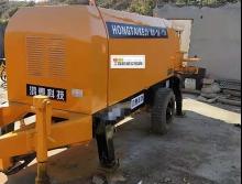 出售09年8月出厂鸿泰HBTS80.16.110电拖泵