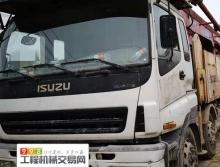 精品出售11年徐工五十铃52米泵车