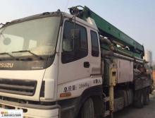 出售10年中集五十铃38米泵车