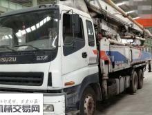 裸车出售11年中联五十铃47米泵车