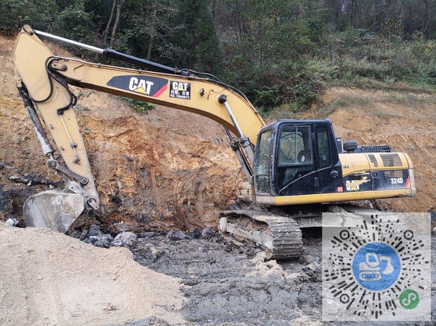 转让卡特彼勒2010年324D中挖