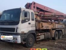 精品出售10年7月徐工五十铃37米泵车