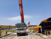 精品出售2014年徐工五十铃49米泵车
