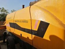 处理2012年中联9018-195柴油拖泵