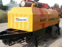 出售07年三一8016柴油拖泵