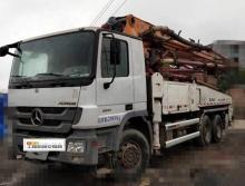 精品出售13年中联奔驰38米泵车