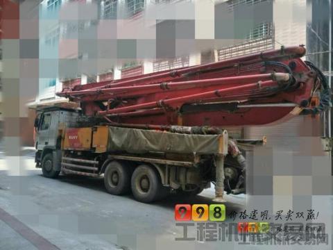 出售2012年三一奔驰E系列46米泵车