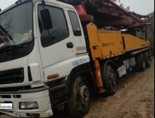 车主直售2008年出厂三一五十铃46米泵车