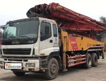 精品转让2012年3月出厂4月上牌三一五十铃底盘46米泵车