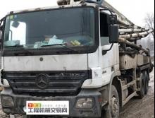 车主直售07年中联奔驰37米泵车(绿标)